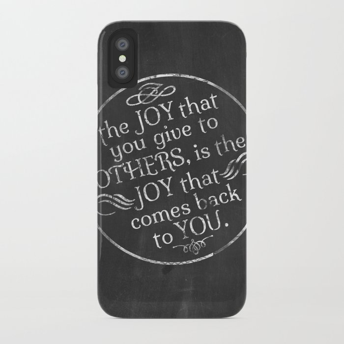 Give Joy  iPhone Case