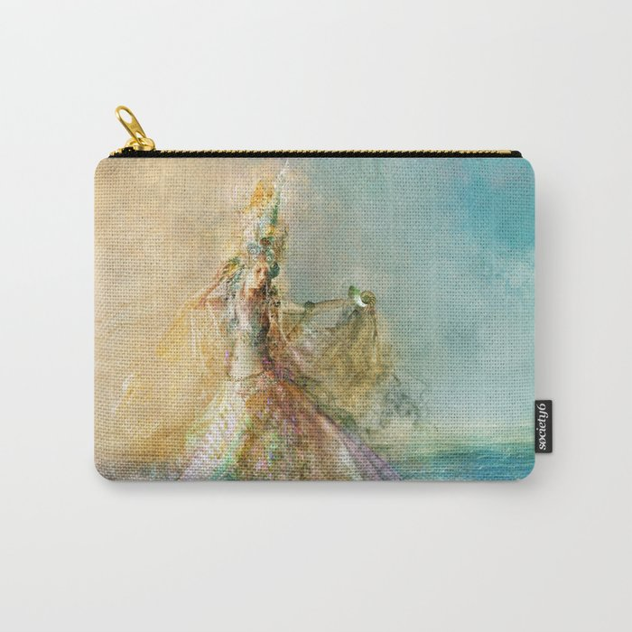 Shell Maiden Carry-All Pouch