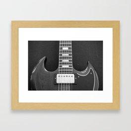 Classic Gibson 5 Framed Art Print