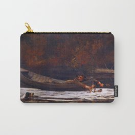 Winslow Homer Hound and Hunter Carry-All Pouch