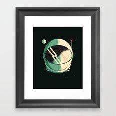 Death of an Astronaut Framed Art Print