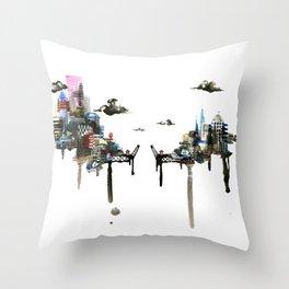 Burnside Bridge Throw Pillow