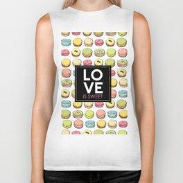 Love is sweet. Biker Tank