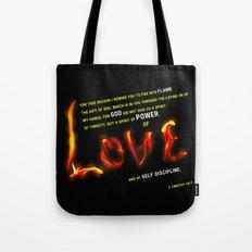 Love's Flame Tote Bag
