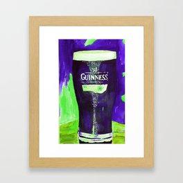 A Good Pint! Framed Art Print