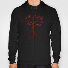 Dead Roots Tree Watercolor Hoody