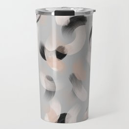 La gouache Light grey Travel Mug