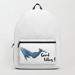 Whale Good Vibes Backpack