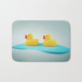 Rubber ducks Bath Mat