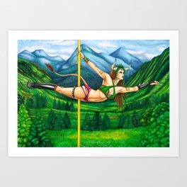 Pole Stars - TAURUS Art Print
