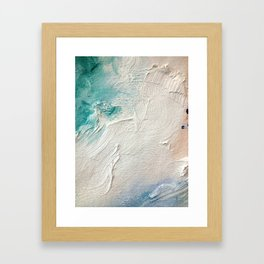 The Fact That You Move So Beautifully More or Less Takes Care of Futurism  Framed Art Print
