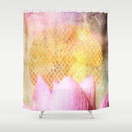 Lotus Sun Shower Curtain