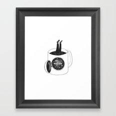 cup of demons Framed Art Print
