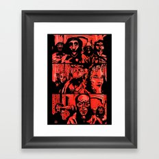 Eyes Wide Shut #1 Framed Art Print