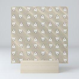 Funny Dog Pattern Mini Art Print