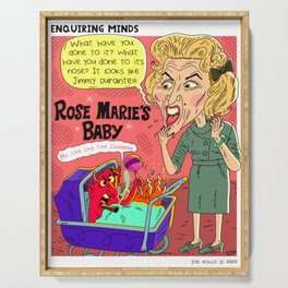 Rose Marie's Baby Serving Tray
