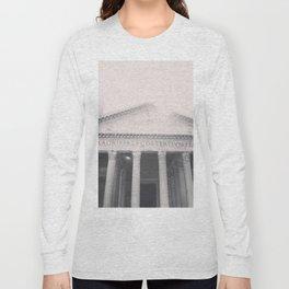 The Pantheon, fine art print, black & white photo, Rome photography, Italy lover, Roman history Long Sleeve T-shirt