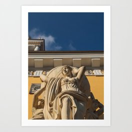 Statue Admiralty Art Print