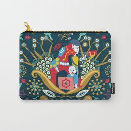 Technological folk art Carry-All Pouch