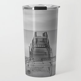 Tranquil Blues - BW Travel Mug