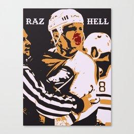 RAZ HELL Canvas Print