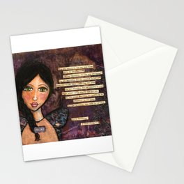 She is Beautiful Stationery Cards