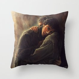 Never supposed to leave Throw Pillow