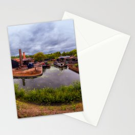 Black Country Living Museum Boat Yard Peaky Blinders Stationery Cards