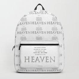 As it is in HEAVEN Backpack