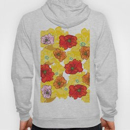 marzipan flowers Hoody