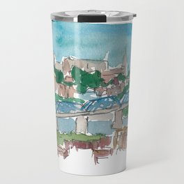 Chattanooga Tennessee Skyline And City View Travel Mug