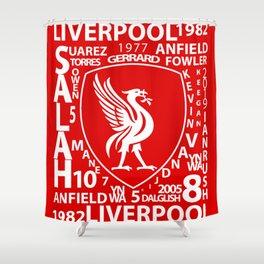 MixWords: Liverpool Shower Curtain