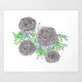 Dandi-lines Art Print