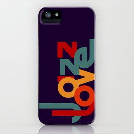Love Jazz iPhone Case