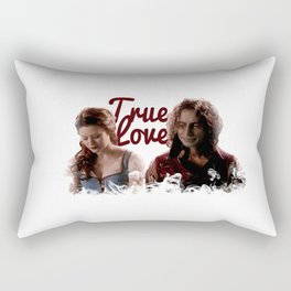 Rumbelle True Love Rectangular Pillow