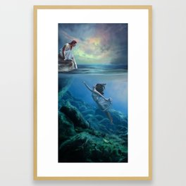Don't Fall In Framed Art Print