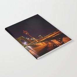 Brooklyn Bridge at Night Notebook
