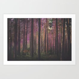 COSMIC FOREST UNIVERSE Art Print