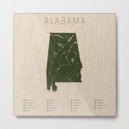 Alabama Parks Metal Print