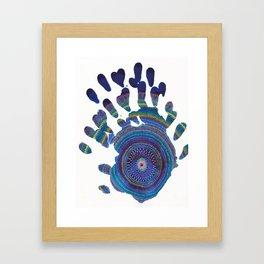 Hands On  Framed Art Print