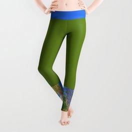 Neon Buddha Leggings