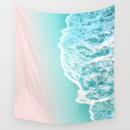 Turquoise Blush Ocean Dream #1 #water #decor #art #society6 Wall Tapestry