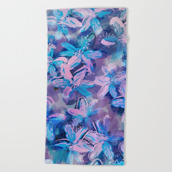 Squill Field Beach Towel