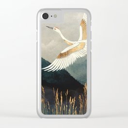 Elegant Flight Clear iPhone Case