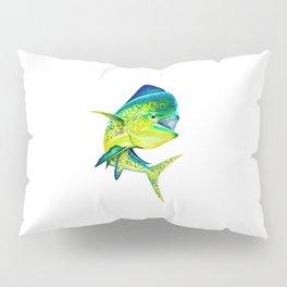 Mahi Time - Lit-Up Mahi Mahi, Dorado, Dolphin Pillow Sham