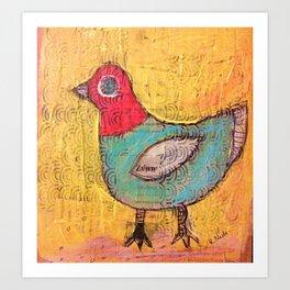 Pigeon Art Print