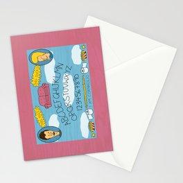Beavis and Ouija Board Stationery Cards