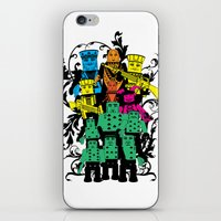 poker iPhone & iPod Skins featuring Poker Toys by elRAiSE