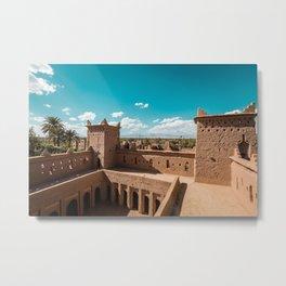 maroc temple Metal Print