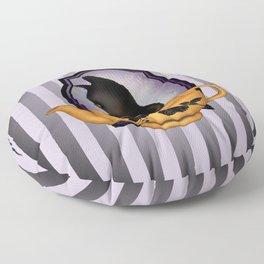 Teapot Cat Floor Pillow
